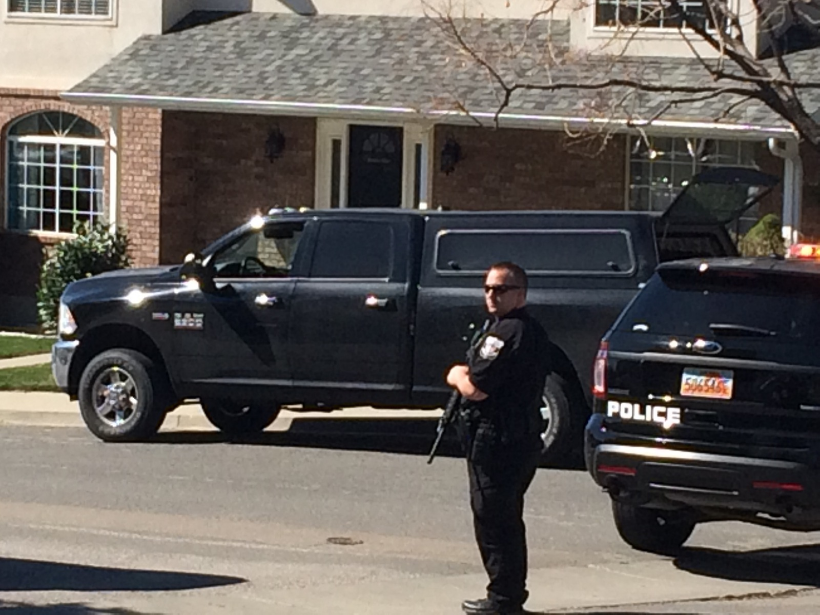 breaking standoff in pleasant grove friday morning
