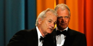 Bill Murray & David Letterman
