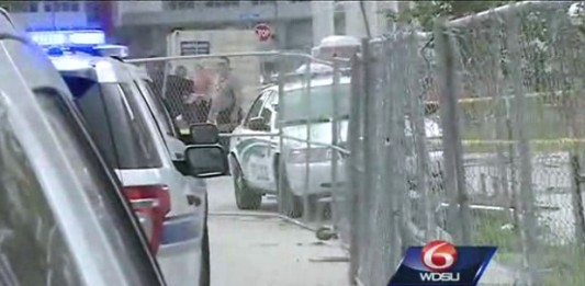 New Orleans Police shot in car