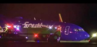 Southwest Airlines Plane Skids Off Runway At Orlando