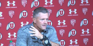 U of U Coach Kyle Whittingham