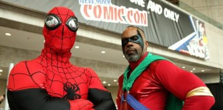 Big Stars Attend Comic Cons in Disguise