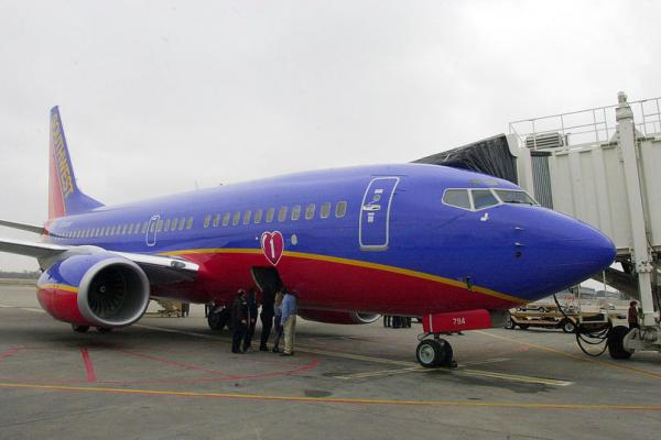 Southwest flight makes emergency landing in Salt Lake City after engine issue