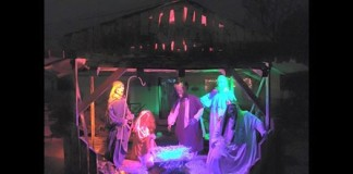 Ohio Man Fined $500 For Zombie Nativity Scene