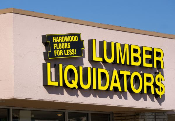 Elevated cancer risk in Lumber Liquidators laminate flooring — CDC