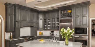 Kitchen in Gray