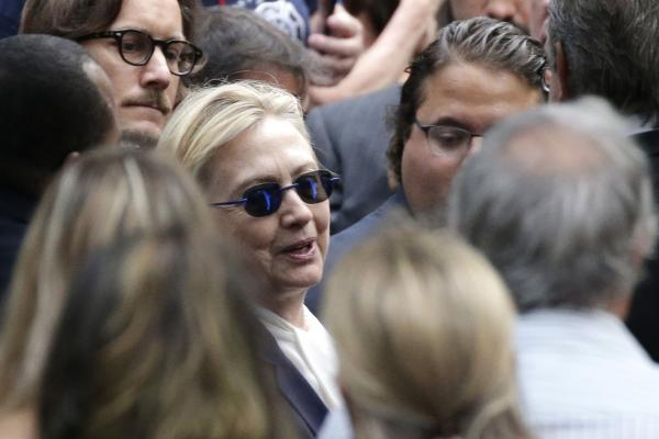 Clinton has history of ignoring health and paying a price