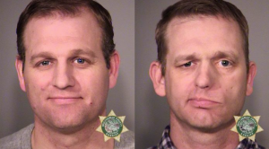 Ammon and Ryan Bundy, on the eve of their trial on federal conspiracy charges for the armed takeover of the Malheur Wildlife Refuge in southeastern Oregon. Photo: Multnomah County Sheriff's Office