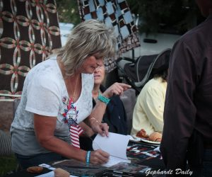 Jeanette Finicum at Bundy Fundraiser held on September 24, 2016 in Veyo, Utah. Photo: Gephardt Daily/Richard Trelles