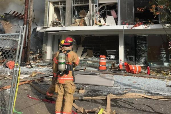 3 firefighters hurt in gas blast are recovering
