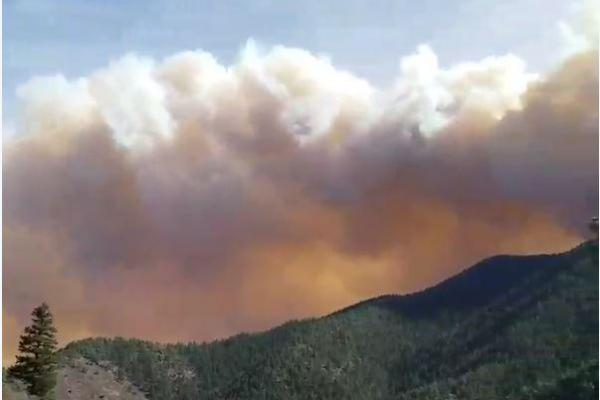 Junkins fire has burned almost 16000 acres, remains 0 percent contained