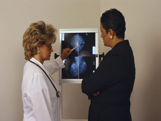 Breast cancer symptoms manifest 'not only through the presence — ALERT
