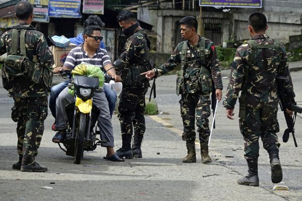 Philippine military says foreign fighters killed