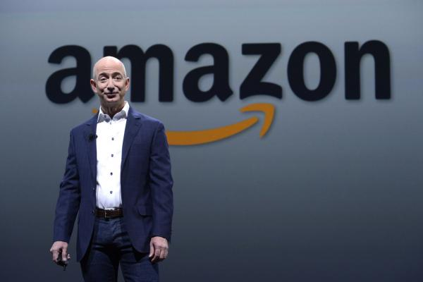 Amazon's stock tops $1000, market value doubles Wal-Mart