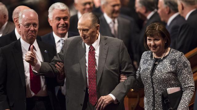 LDS Church President No Longer Attends Meetings Due To Age