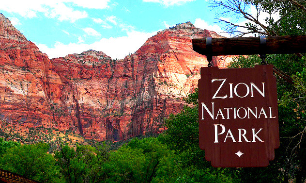 Hiker survives 100-foot fall at Utah's Zion National Park