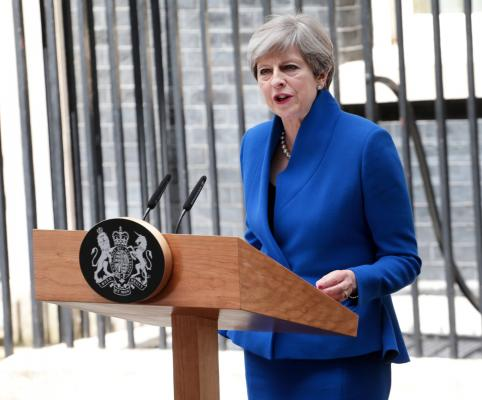 British PM May says will govern with