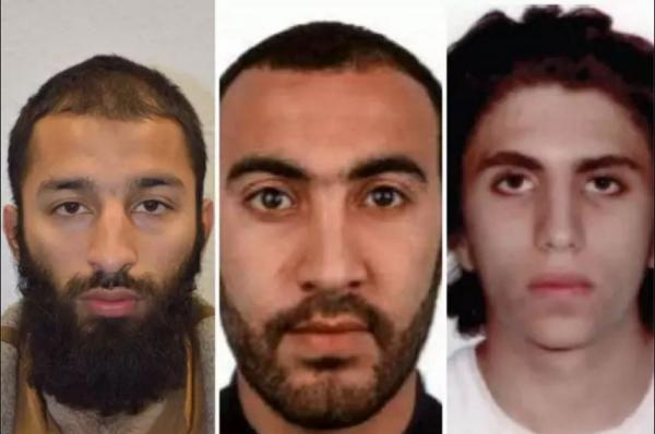 Two of the three London Bridge terrorists are named