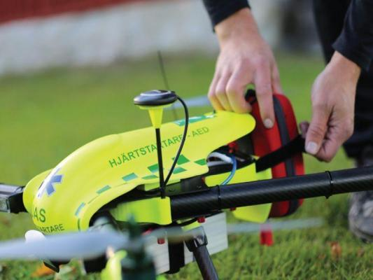 Drones can reach heart attack patients faster than ambulances