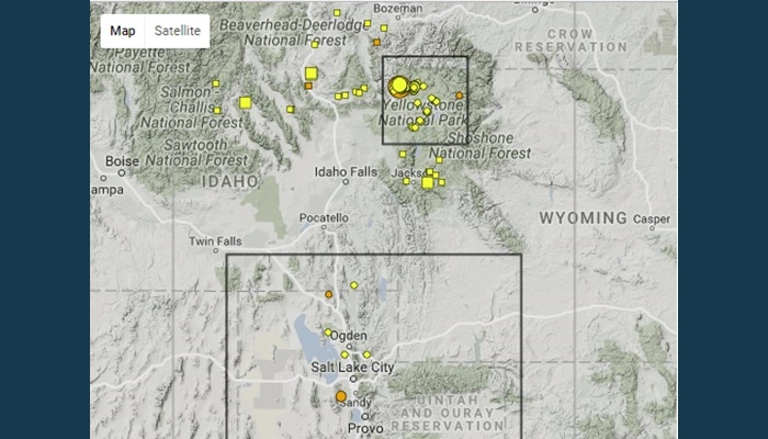 Quake shakes NW Yellowstone area