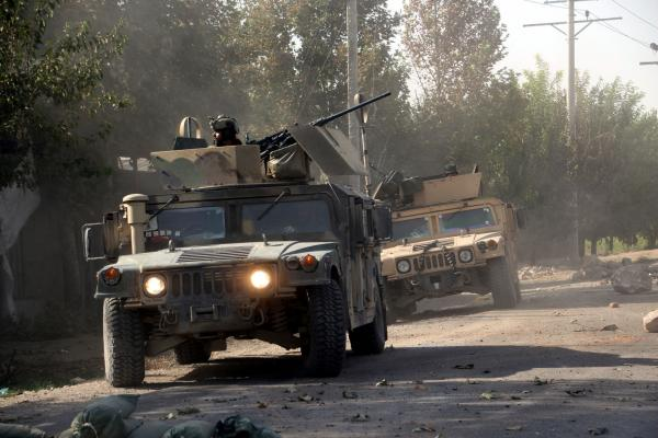 Taliban killed by Afghan forces in major assault