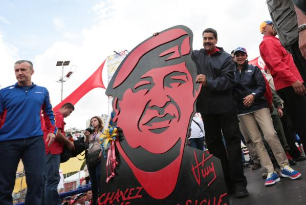 Caracas: A Tale of Two Cities as Opposition 'Strike' Begins