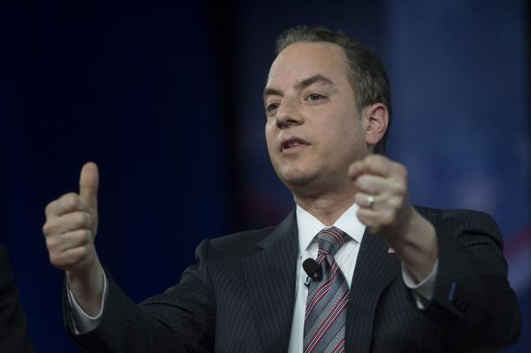 Priebus out the day after that slashing attack by Trump's new man