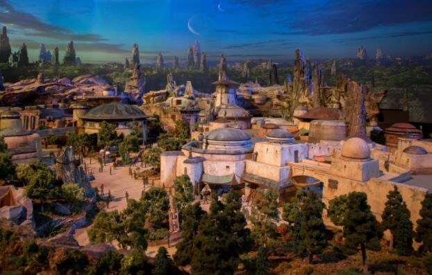 Disney reveals two 'Star Wars'-themed land models in Anaheim