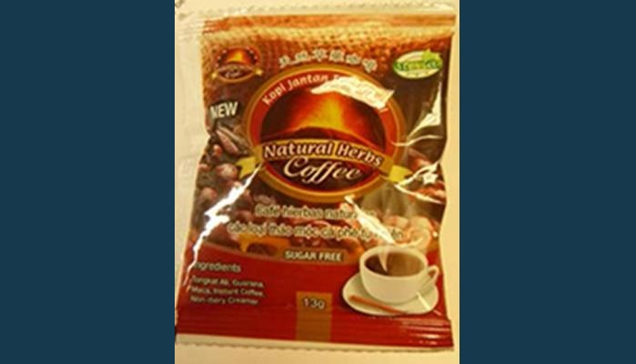 Viagra coffee recalled due to health risk