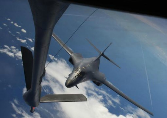 U.S. bombers drill near South Korea DMZ in show of force