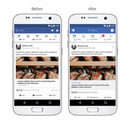 Facebook updates News Feed for easier navigation