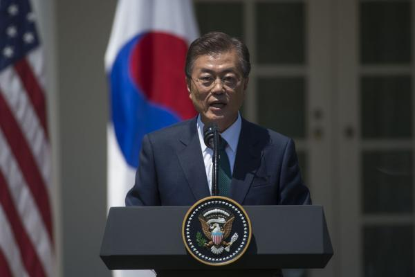 South Korea's Moon says no military action without Seoul's consent