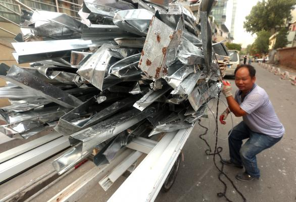 Aluminum Prices Supported by China's Steel Appetite