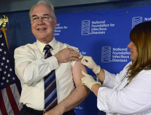 Flu Shots Available Next Week