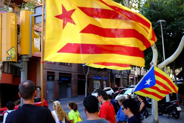 Catalans Occupy Voting Stations to Preempt Police Crackdown