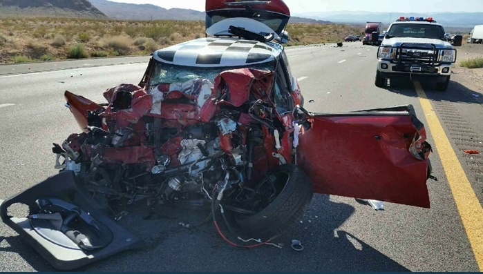 Four in custody in connection with I-15 fatal crash near Moapa