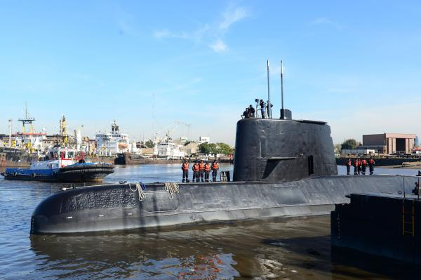 Argentina's Search for Missing Sub Hampered by Bad Weather