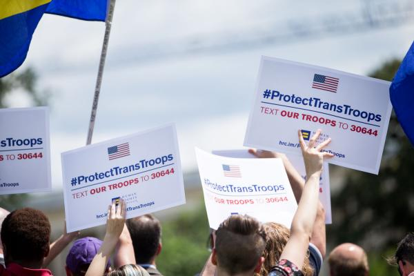 Federal Judge Rejects Trump Request to Delay Enlistment of Trans Troops