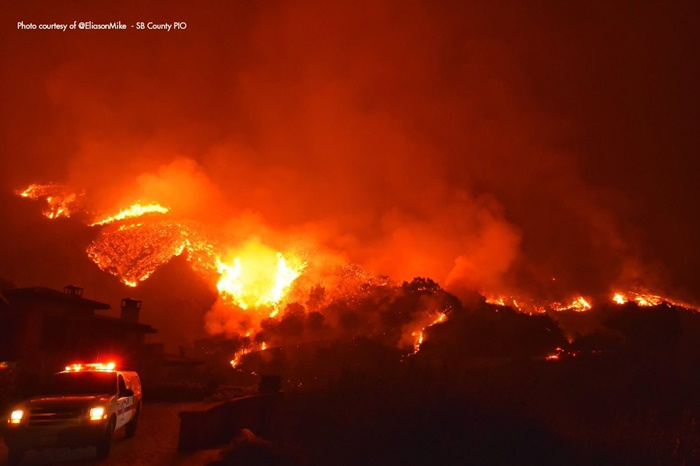 Firefighter dies as massive wildfire in California continues