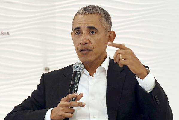 Former President Obama offers advice to politicians: 'Think before you tweet'
