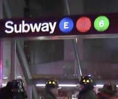 MTA work trains collide in tunnel under the East River