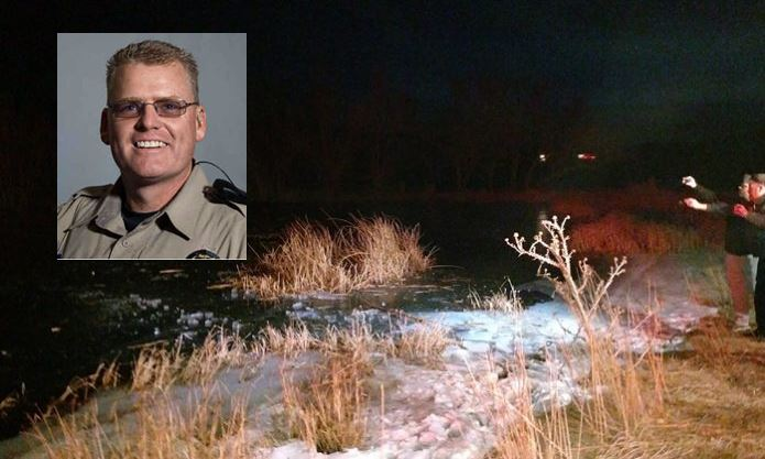 Deputy recalls breaking through frozen pond to pull out boy