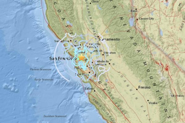 4.5-magnitude natural disaster rocks San Francisco Bay Area