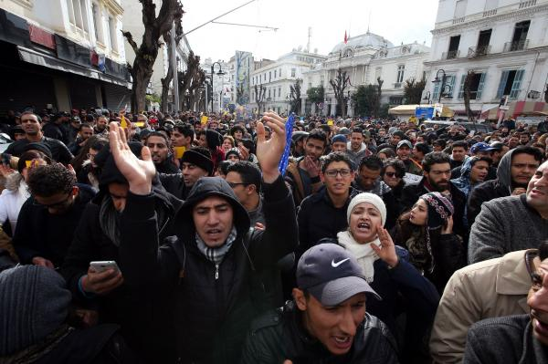Heavy clashes expected as Tunisians rally over strict austerity measures