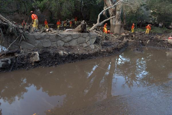 Rescue phase ends in California mudslide zone