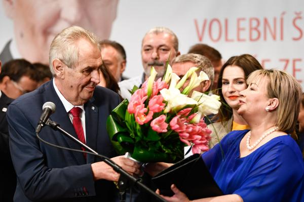 Czechs re-elect President Zeman, known for pro-Russian views