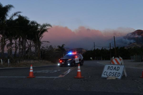 Evacuations Ordered in Santa Barbara Due to Fear of Mudslides