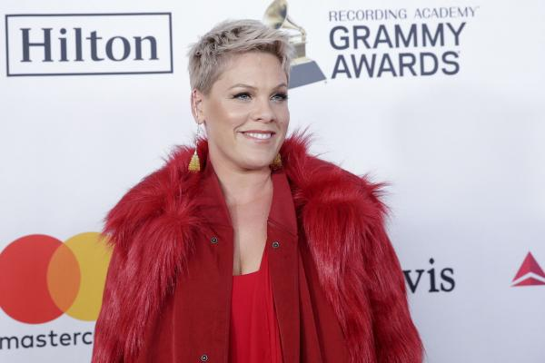 Pink sings Super Bowl national anthem despite having the flu