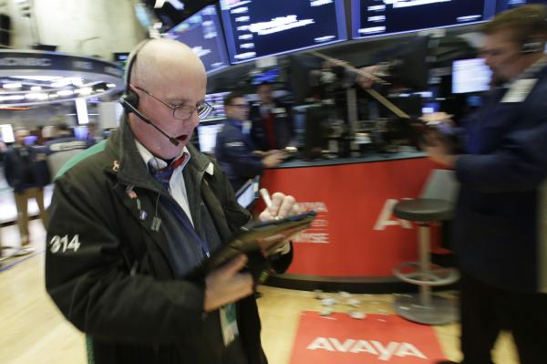 Wall Street extends losses as bond yields creep up again — At midday
