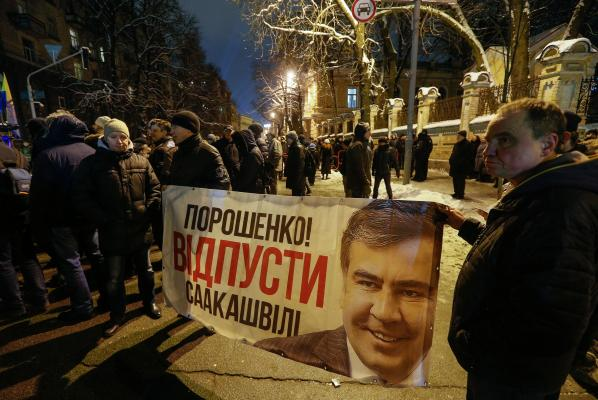 Saakashvili vows to return to Ukraine to oust ex-ally Poroshenko